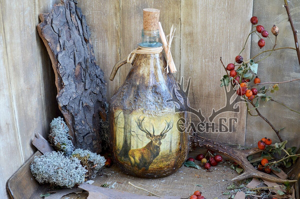 дамаджана 3 литра елен и вълци