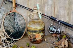 Дамаджана 2л подарък за рибар