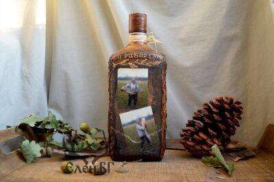 бутилка със снимки на клиента