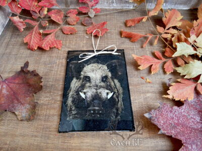 картичка подарък за ловец