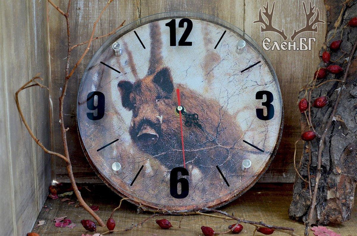 кръгъл ловен часовник