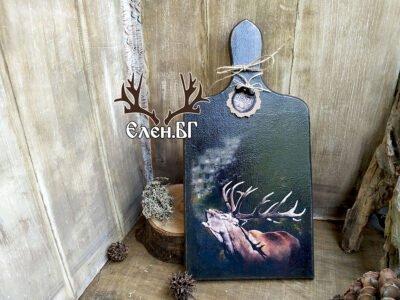 дъска за рязане с елен